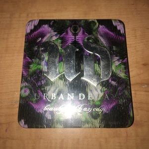 URBAN DECAY SINGLE EYE SHADOW PALETTE W/ 4 SHADOWS